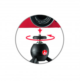 Mini trepied Manfrotto Pixi negru