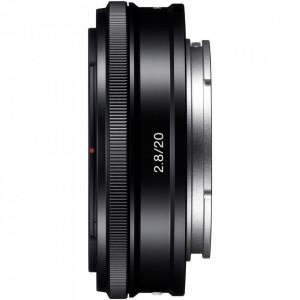 Obiectiv superangular fix Sony E F2,8 de 20 mm