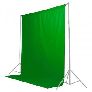 Fundal de pânză Caruba 2x3m Chroma Key (Green Screen)