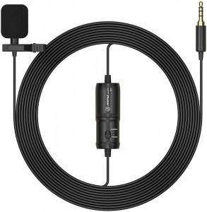 Microfon lavaliera Mirfak MC1 cu jack de 3.5mm