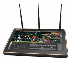Mixer video portabil Nagasoft NSCaster-X1 4G cu functie de multi-streaming si inregistrare