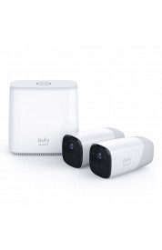 Kit supraveghere video eufyCam Security wireless, HD 1080p, IP66, Nightvision, 2 camere video