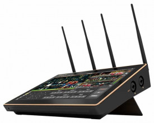 Mixer video portabil Nagasoft NSCaster-X1 4G cu functie de multi-streaming si inregistrare