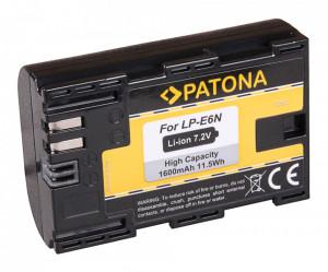 PATONA LP-E6N - Acumulator replace CANON LP-E6N