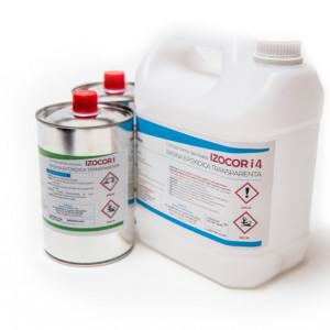 Rasina Epoxidica Transparenta IZOCOR I4 30 kg