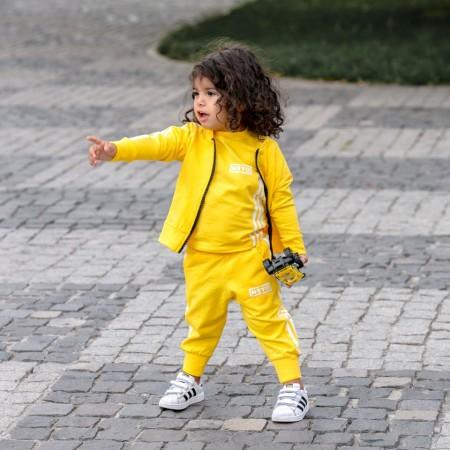 Poze Compleu Copii din 3 Piese (Hanorac ,Pantaloni si Tricou) cod 820