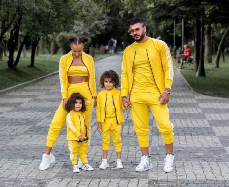 Compleu Copii din 3 Piese (Hanorac ,Pantaloni si Tricou) cod 820