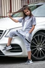 Compleu Adolescenti 2 Piese (Pantaloni si Tricou) cod 1005