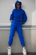 Compleu 2 Piese Polar cod 1017 Albastru