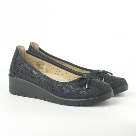 Slika Cipele na malu petu L020607 crne