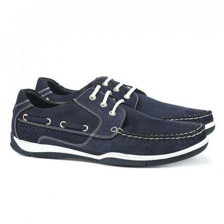 Slika Kožne muške cipele 11153/2 teget