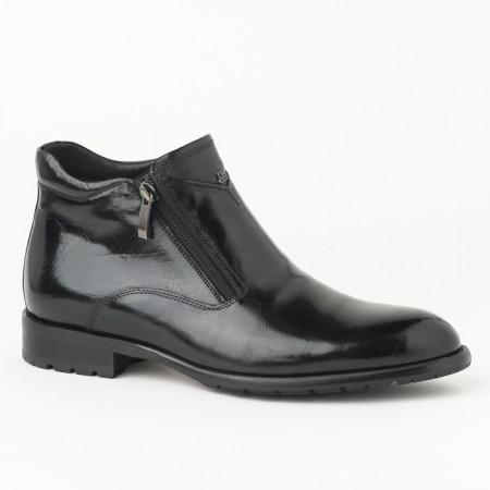 Slika Kožne muške duboke cipele HL-H322D-18A crne