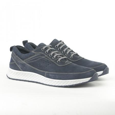 Slika Kožne muške patike-cipele 91528-1 teget