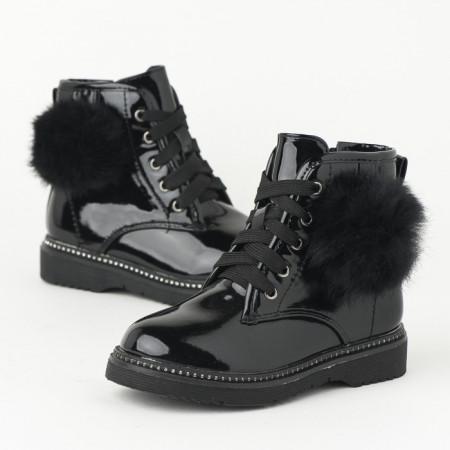 Slika Lakovane čizme za devojčice BH251932 crne