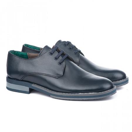 Slika Muške kožne cipele Gazela 5031 teget