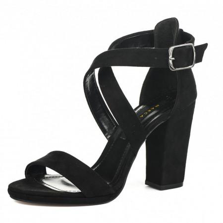 Slika Sandale na štiklu 130 crne