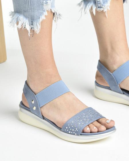 Slika Udobne sportske sandale S481 plave
