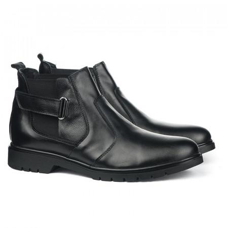 Slika Kožne muške cipele 5697 crne