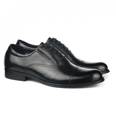 Slika Kožne muške cipele BY320-051-T851 crne