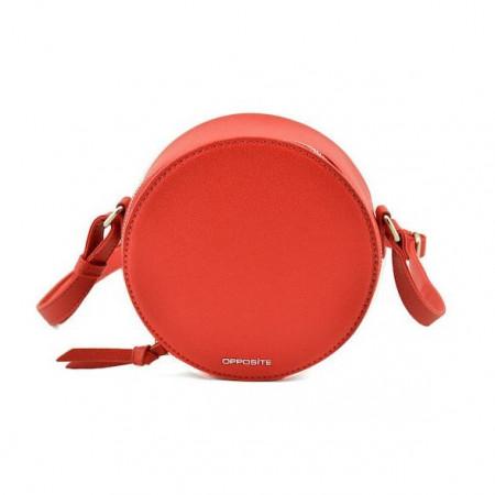 Slika Okrugla torba T021000 crvena