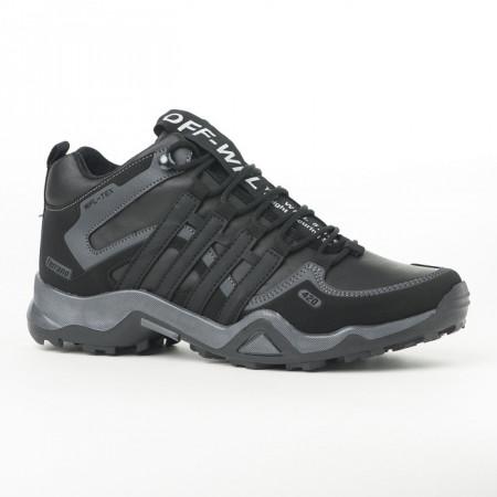 Slika Zimske duboke cipele / patike 3014 crno sive (brojevi od 36 do 44)