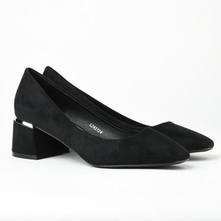 Slika Cipele na malu štiklu L242124 crne