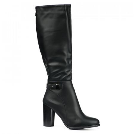 Slika Duboke ženske čizme LX051826 crne