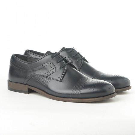 Slika Kožne muške cipele 1781 teget