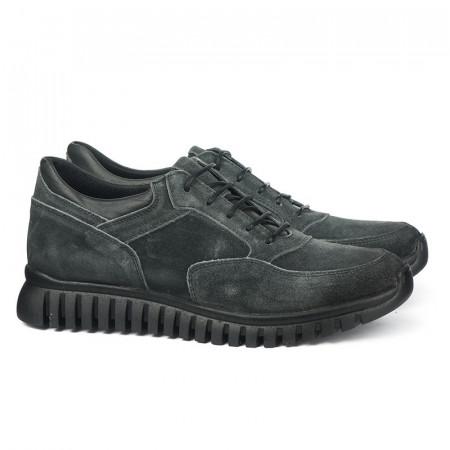 Slika Kožne muške cipele 6408 sive