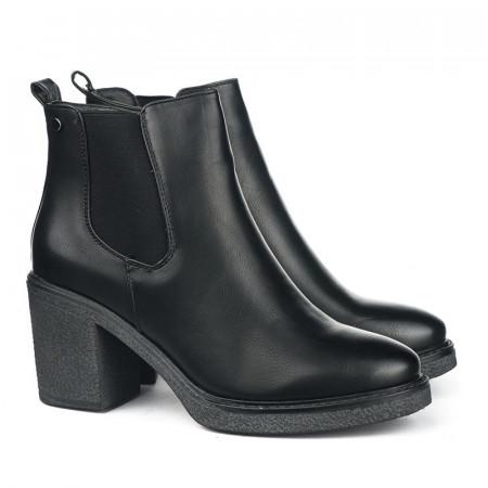 Slika Ženske poluduboke čizme LH131810 crne