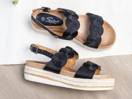 Slika Ženske sandale LS271949 crne