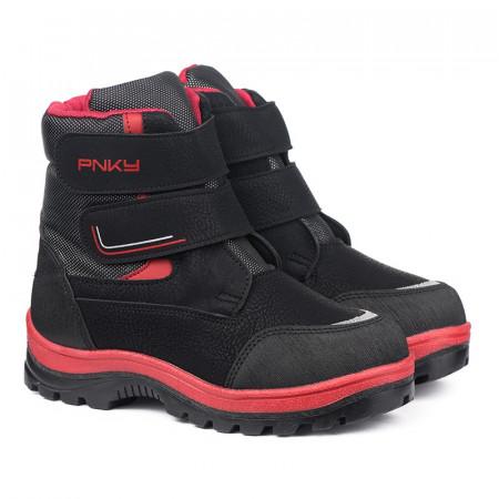 Slika Zimske duboke cipele / čizme 12052 crne