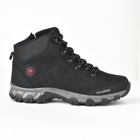 Slika Zimske duboke cipele / patike 4054 crne (brojevi od 36 do 39)