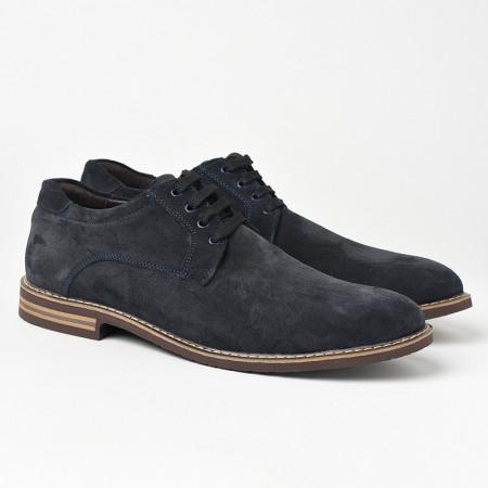 Slika Kožne muške cipele 5577 teget