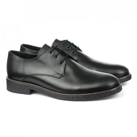 Slika Muške kožne cipele 5831 crne