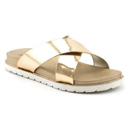 Slika Ženske papuče LP91304 zlatne