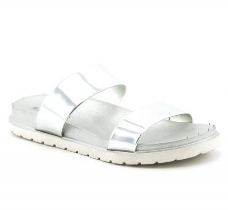 Slika Ženske papuče LP91306 srebrne