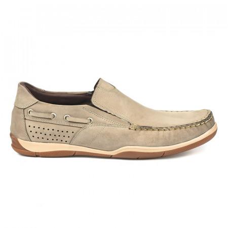 Slika Kožne muške cipele 11153/1 bež