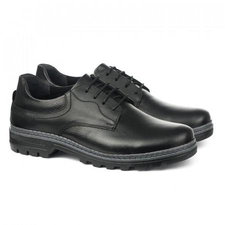 Slika Kožne muške cipele 1415 crne