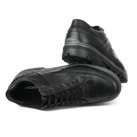Slika Kožne muške cipele 1445 crne