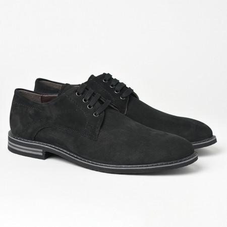 Slika Kožne muške cipele 5510 crne