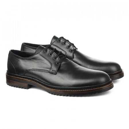 Slika Muške kožne cipele 872 crne