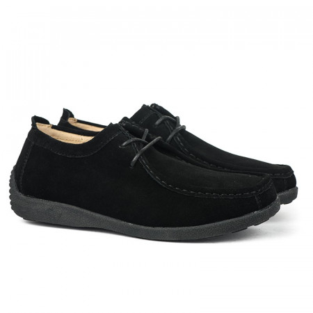 Slika Ženske kožne cipele C385B crne