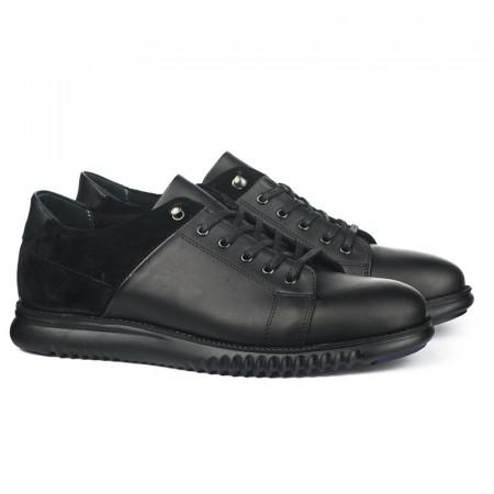 Slika Kožne muške cipele 4072 crne