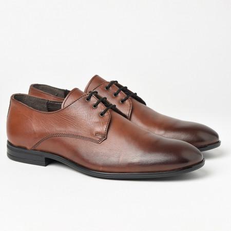 Slika Kožne muške cipele Gazela 3331 braon