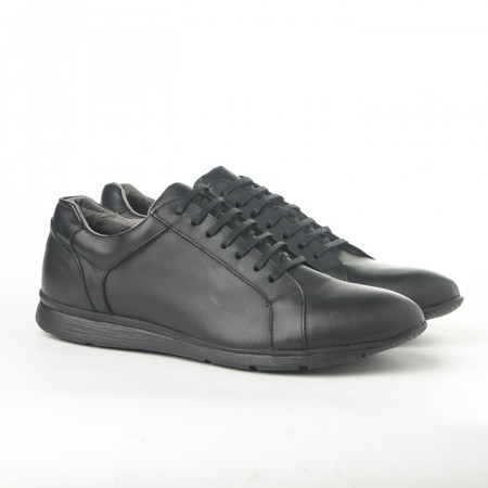 Slika Kožne muške cipele/patike 360 crne