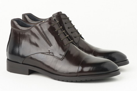 Slika Kožne muške duboke cipele HL-H1051F-3A braon