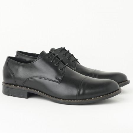 Slika Muške kožne cipele 3273-01 crne