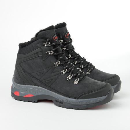 Slika Zimske duboke cipele / patike 10-4076 crne (brojevi od 36 do 44)