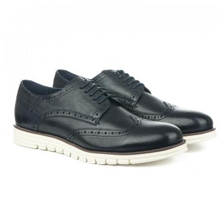 Slika Kožne muške  cipele K161739-38B teget